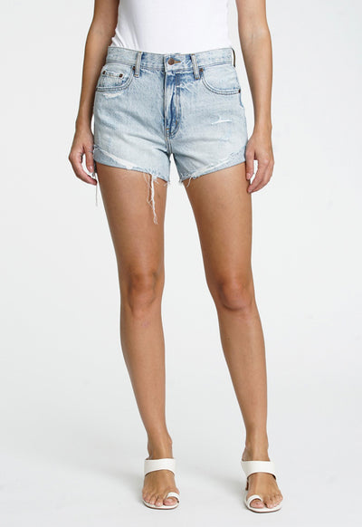 Pistola - Kylee Relaxed High-Rise Cuffed Shorts St Tropez
