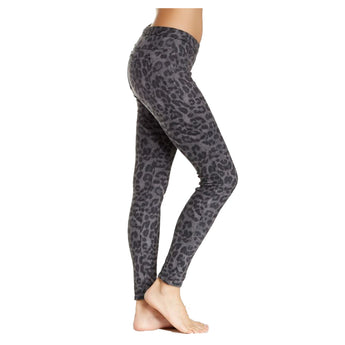Hue Original Denim- Leopard Steel Print Leggings