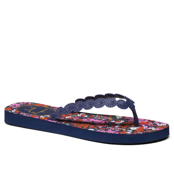 Jack Rogers Smith- Midnight Blue Flip Flop