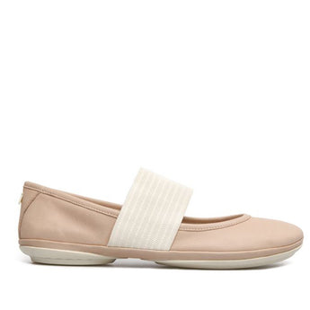 Camper Right Nina- Makeup Nude Mary-Jane Flat