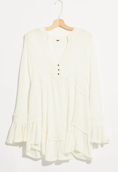 Free People - White Olivia Tunic