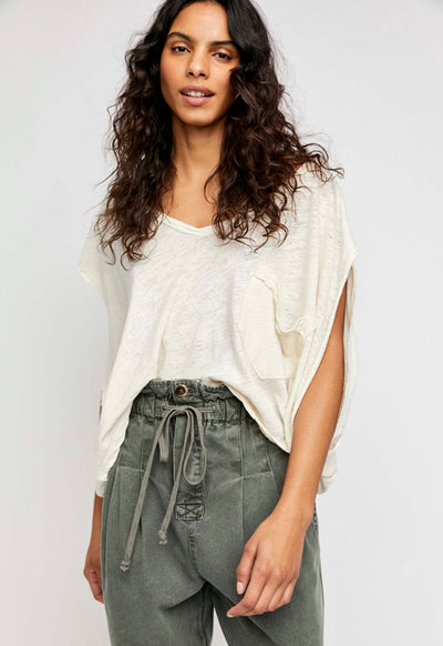 Free People - Feelin It Tee Solitary Star