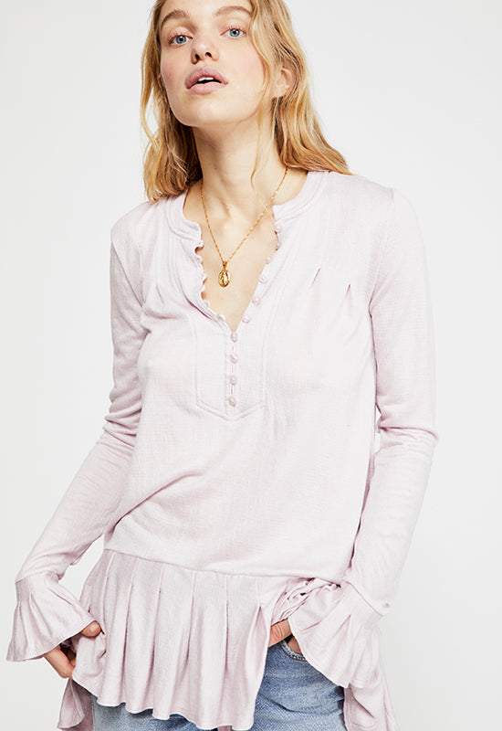 c30d894238a Free People - Your Girl Lavender Tunic – Kixters.com