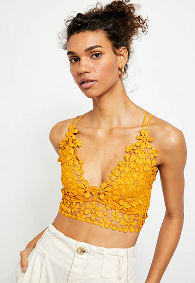 Free People - Miss Dazie Yellow Bralette
