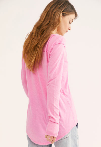 Free People - Betty Long Sleeve Brightest Orchid