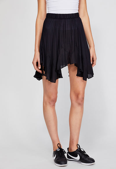 Free People - Easy Does It Black Half Slip