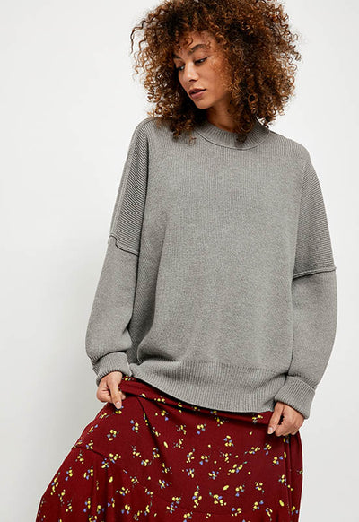Free People - Heather Grey Easy Street Tunic