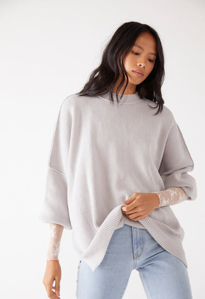 Free People - East Street Tunic Grey