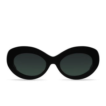 RAEN Ashtray- Unisex Black Framed Sunglasses