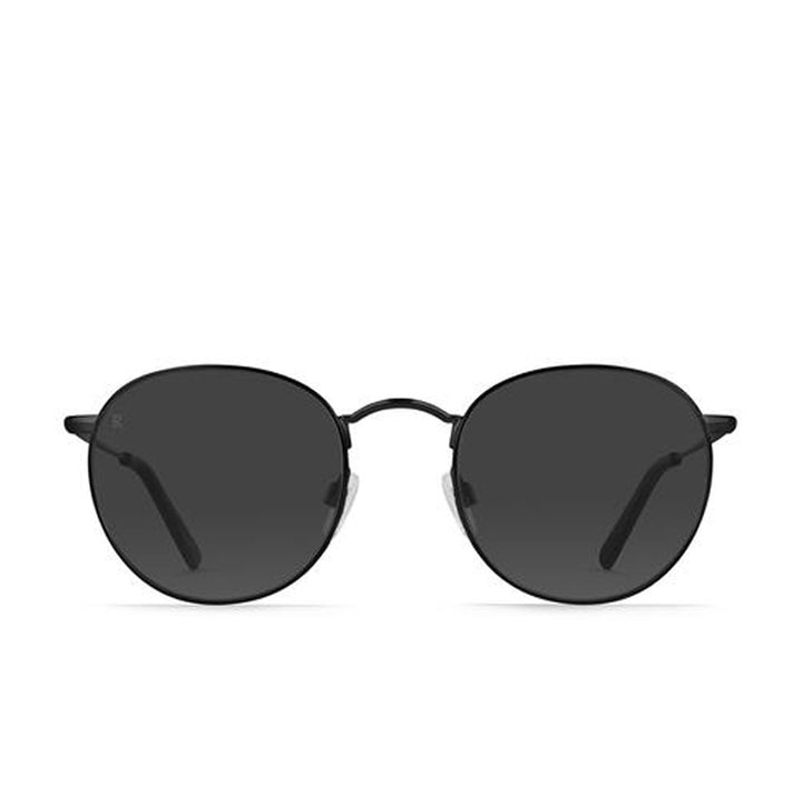 RAEN Benson- Unisex Black Ripple Framed Sunglasses