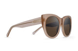 RAEN Durante- Women's Silver Mirror Rose Sunglasses