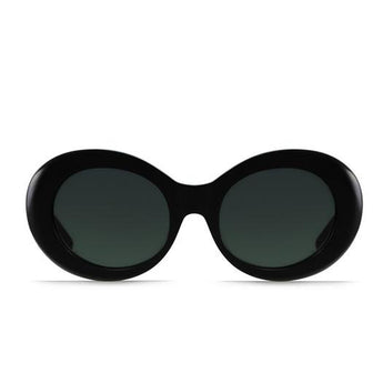 RAEN Figurative-Unisex Black Framed Sunglasses