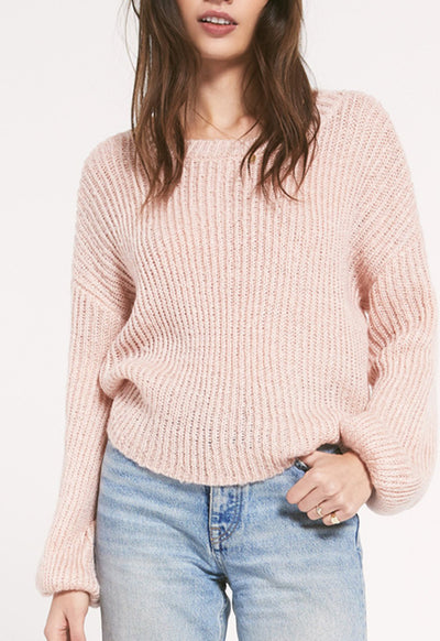 Rag Poets - Shoreditch Sweater Pink