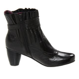 Everybody Raffio - Black Ankle Bootie
