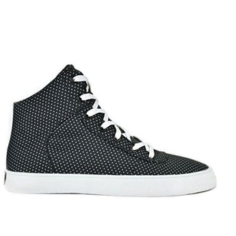 Supra Cuttler - Black with White Polka Dots