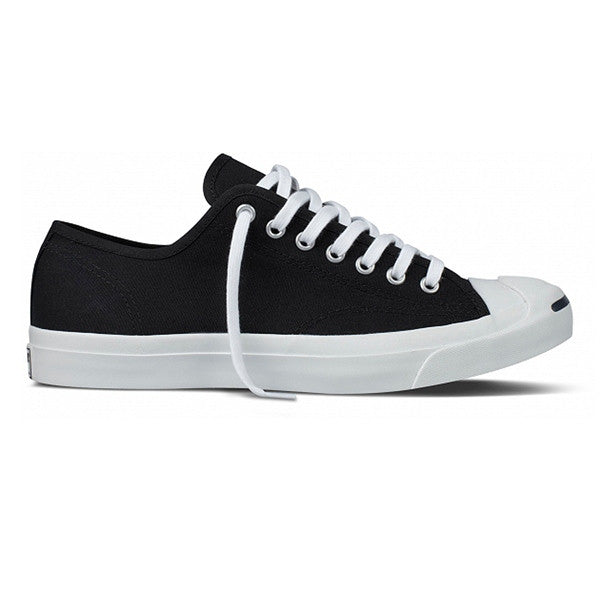 Converse Jack Purcell - Black Canvas Low-top Sneaker