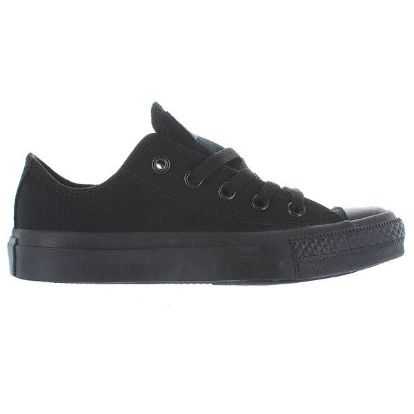 Converse Chuck Taylor Low - Black Monochrome Canvas Low-Top Sneaker