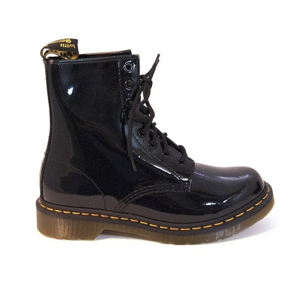 Dr. Martens 1460 -Black Patent Lace-up Boot