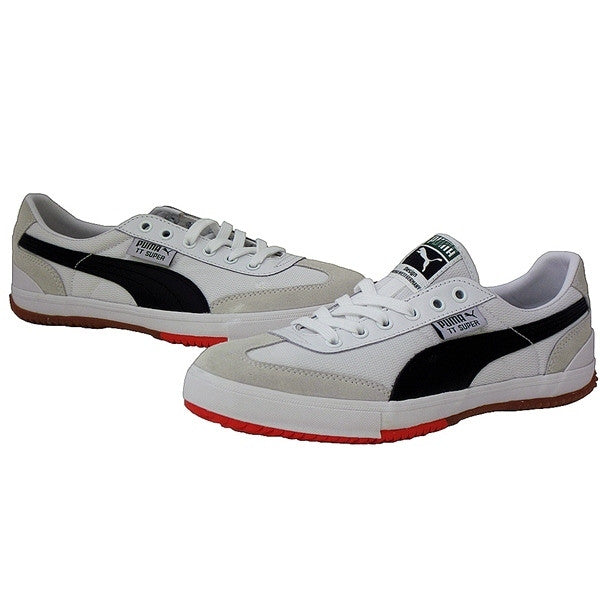 Puma TT - Black and White Low-top Sneaker