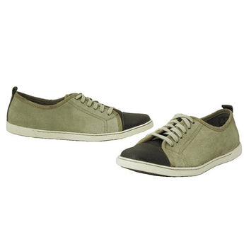 Hush Puppies Hinkley - Taupe Low-top Sneaker