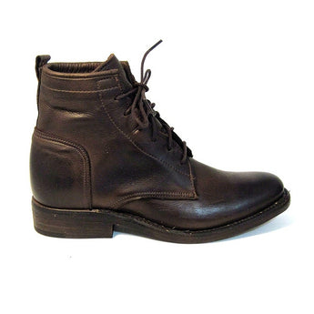 Vintage Bluff Harness - Men's Brown Lace-up Boot