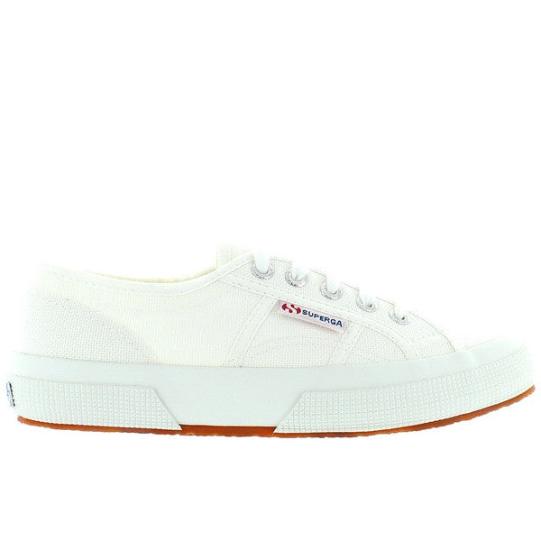 Superga 2750 COTU Classic - White Canvas Lace-Up Sneaker