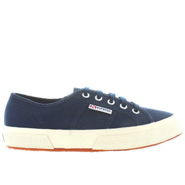Superga 2750 COTU Classic - Navy Canvas Lace-Up Sneaker