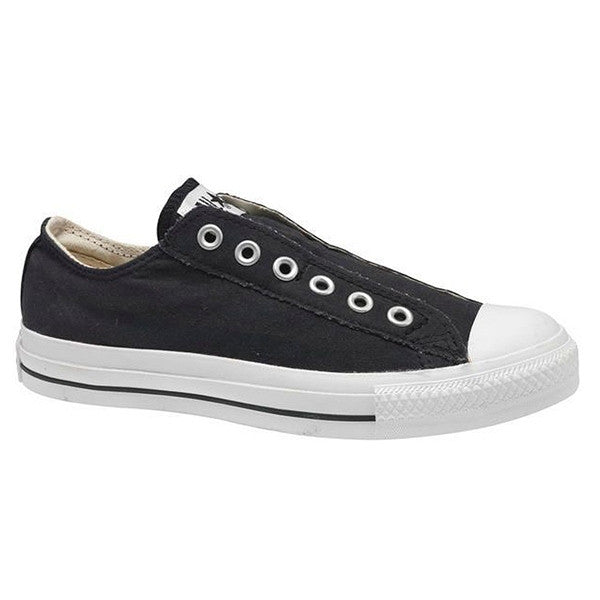 Converse All-Star Chuck Taylor - Black Canvas Slip-On Sneaker