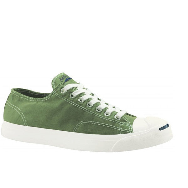 Converse Jack Purcell Garment Dye - Dark Green