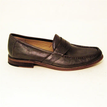 Hush Puppies Caines - Dark Brown Wash Leather Loafer