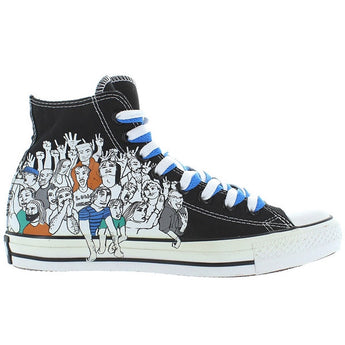 Converse All Star Chuck Taylor Hi Crowd - Black/White Multi High Top Sneaker