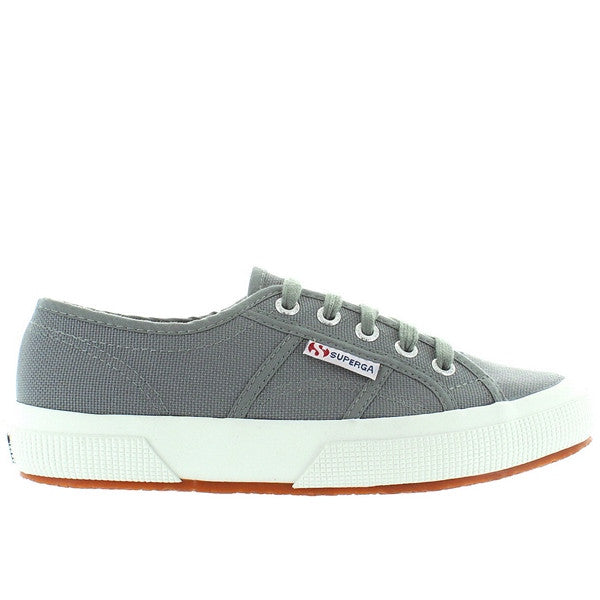 Superga 2750 COTU Classic - Grey Canvas Lace-Up Sneaker