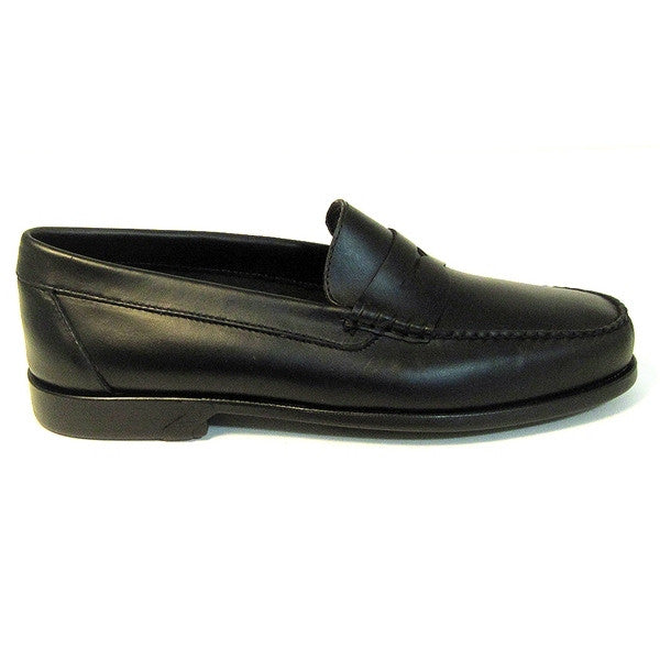 Bass Bleaker - Black Leather Loafer