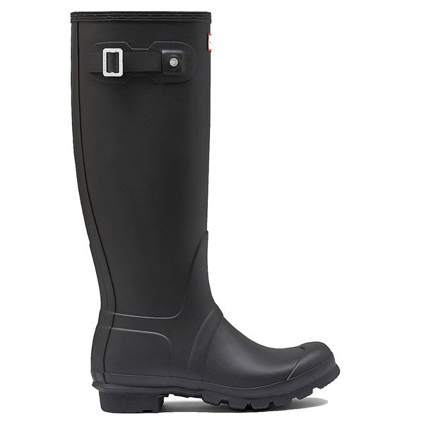 Hunter Original Tall - Flat Black Rain Boot