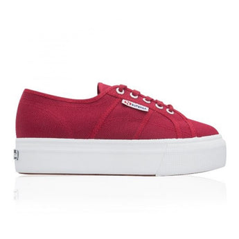 Superga Platform - Red Sneaker