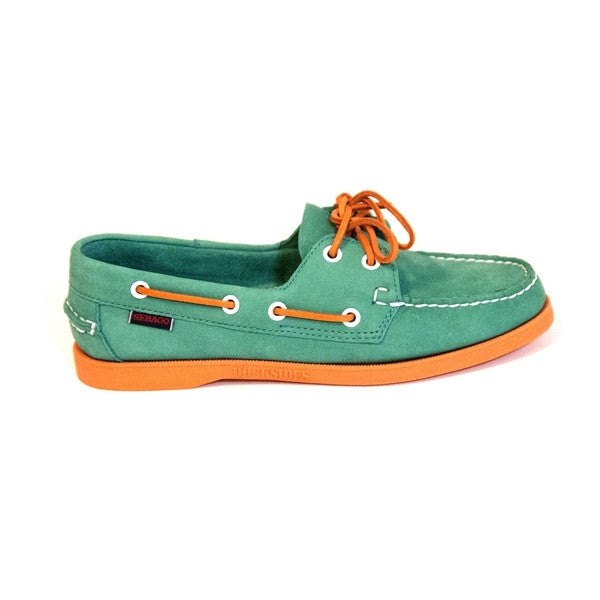 Sebago Spinnaker - Teal / Orange
