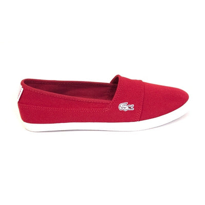 Lacoste Marice - Red Slip-On Sneaker