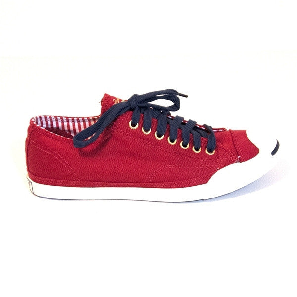 Converse Jack Purcell Lo Pro - Red Low-Top Sneaker