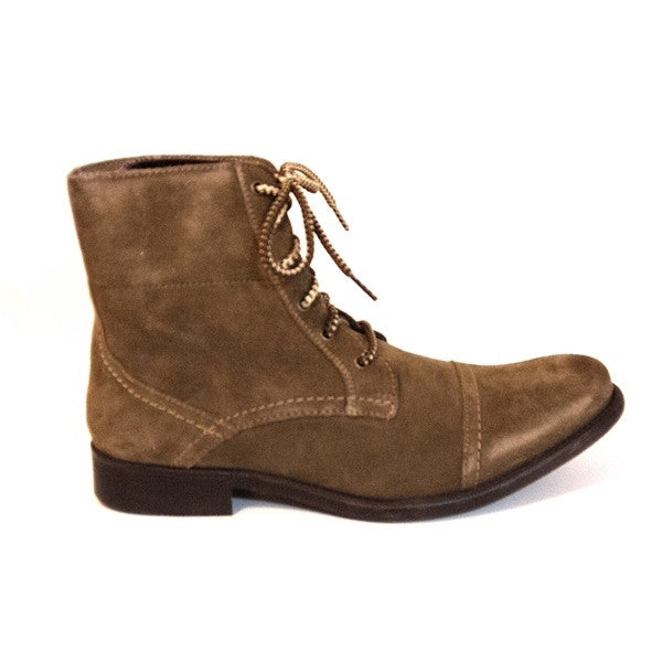Hush Puppies Brock - Tan Lace-up Boot