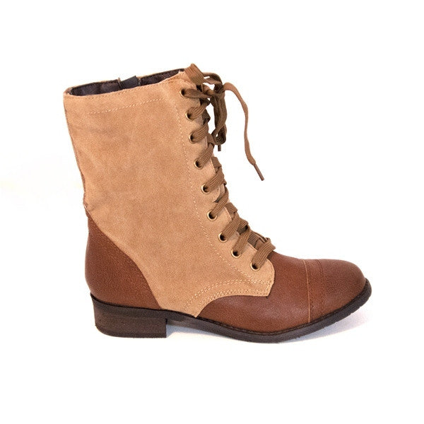 Wanted Forge - Tan Combat Boot