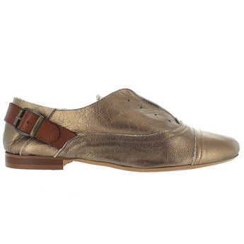 MTNG Kerry - Bronze/Camel Slip-On Laceless Oxford