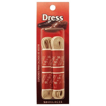 Dress Shoe Laces - Elk LCIUW-ELK - Size XS