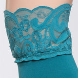 Bootights Darby Lacie Lace Knee-High/Ankle Sock - Turquoise 3712-401