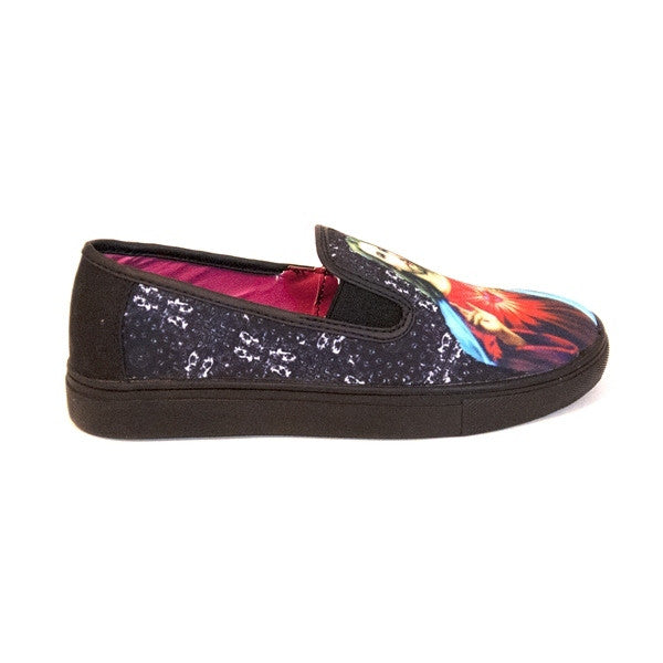 YRU Chill Preach - Black Slip-on Sneaker