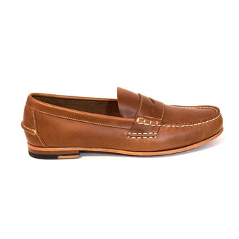 Sebago Wicklow - Brown Leather Penny Loafer