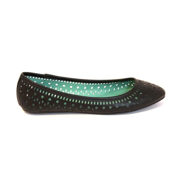 Wanted Limbo - Black Ballet Flat