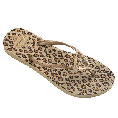 Havaianas Slim - Animal Sand Grey Flip-Flop