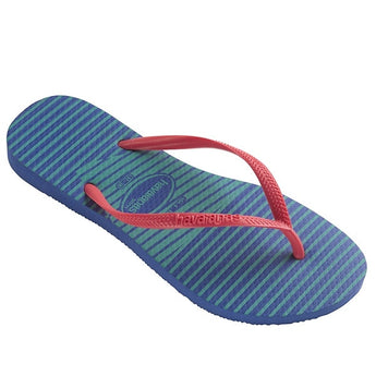 Havaianas Slim - Graphic Light Blue Flip-Flop