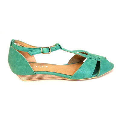 Chelsea Crew Florence - Teal Wedge Sandal