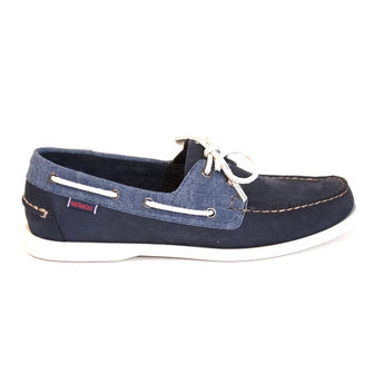 Sebago Docksides - Navy Canvas